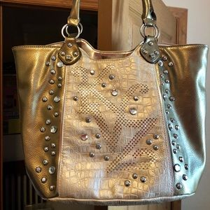 Cute Bling Tote Purse